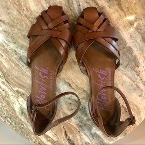Blowfish Sandals size 9 brown shoes